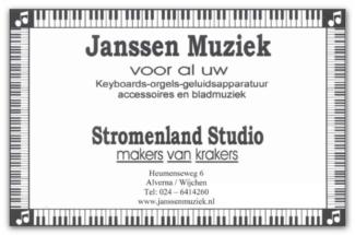 Janssen Muziek Alverna Wijchen