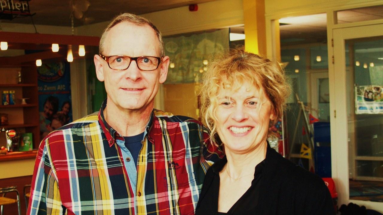 2e plaats mixed-dubbel: Huub Nagtegaal & Sandra van Hees
