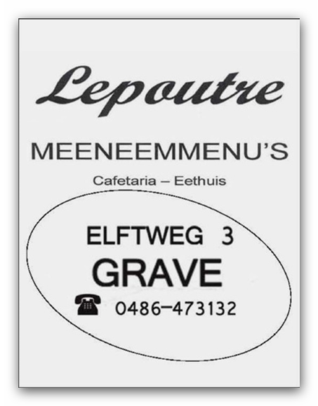 Cafetaria Eethuis Lepoutre
