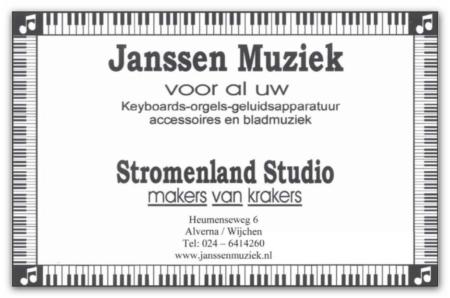 Janssen Muziek Alverna-Wijchen